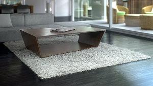 fluffy carpet 3d max