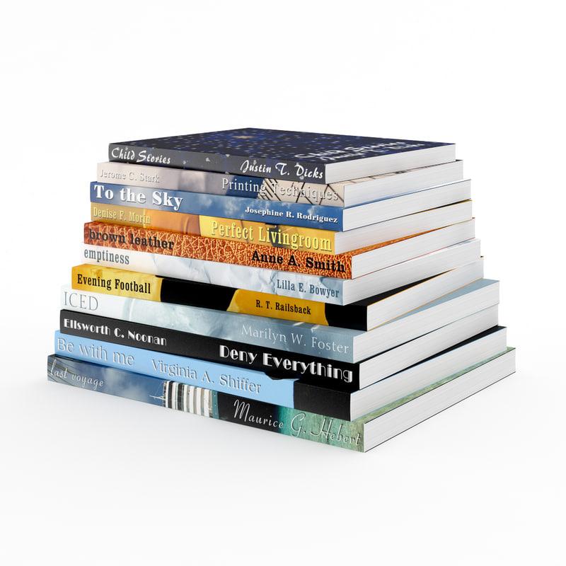 book set 3d max