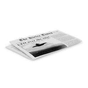 newspaper c4d