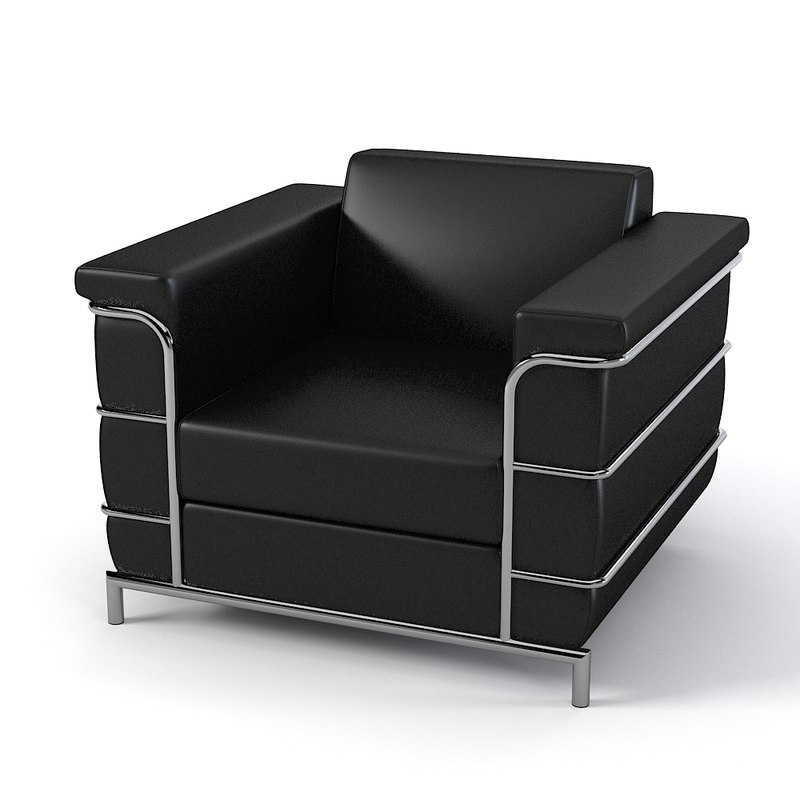 eurostyle leander armchair 3d model