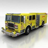 Airport firetruck 1
