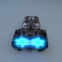 scifi drive 3d blend