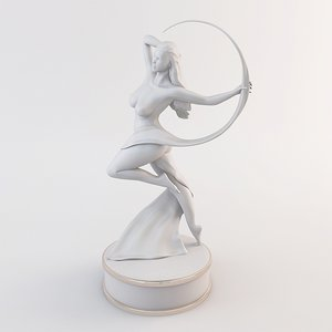 max female figurine art