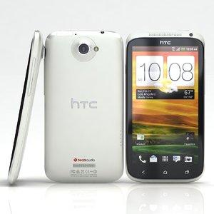 htc x white 3d c4d
