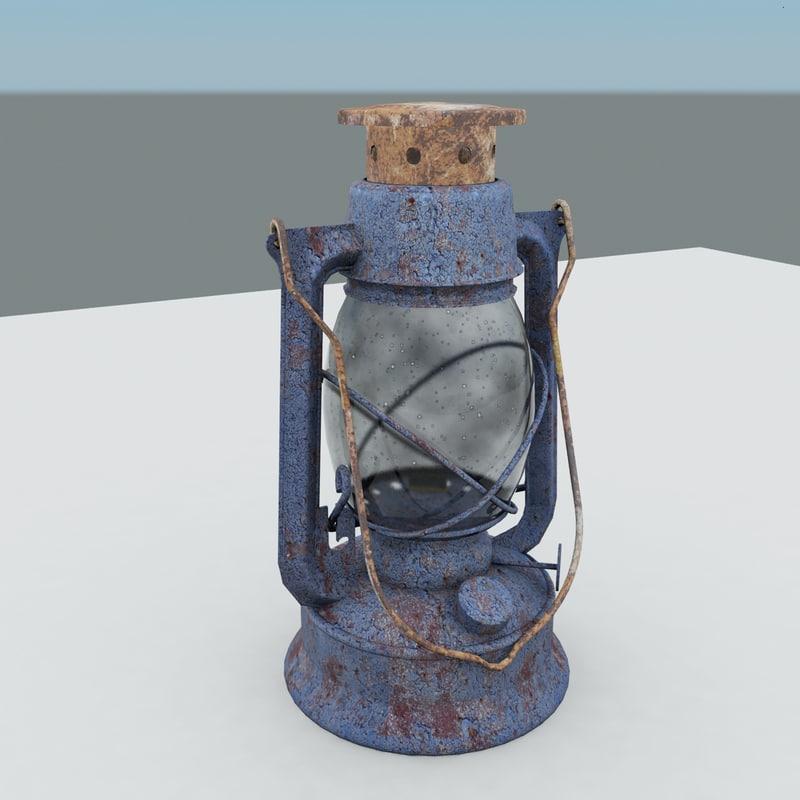 oil lantern rusty max
