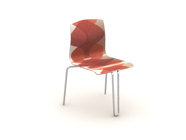 3ds red chair
