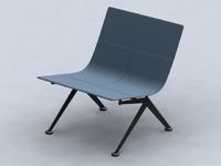 3d outdoor chair model