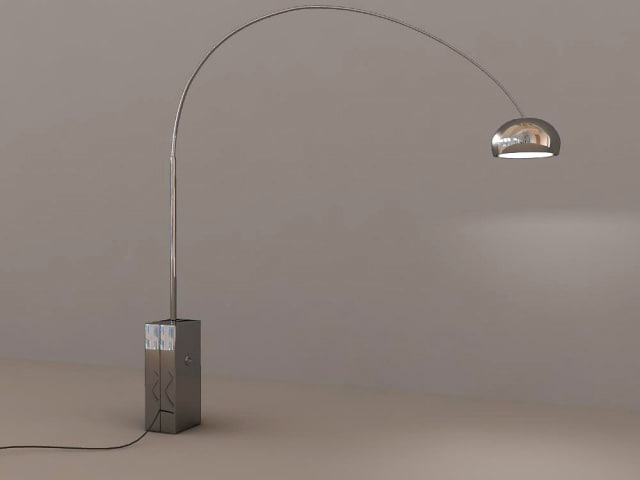 3d model stand light