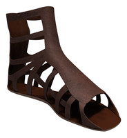roman sandal 3d fbx