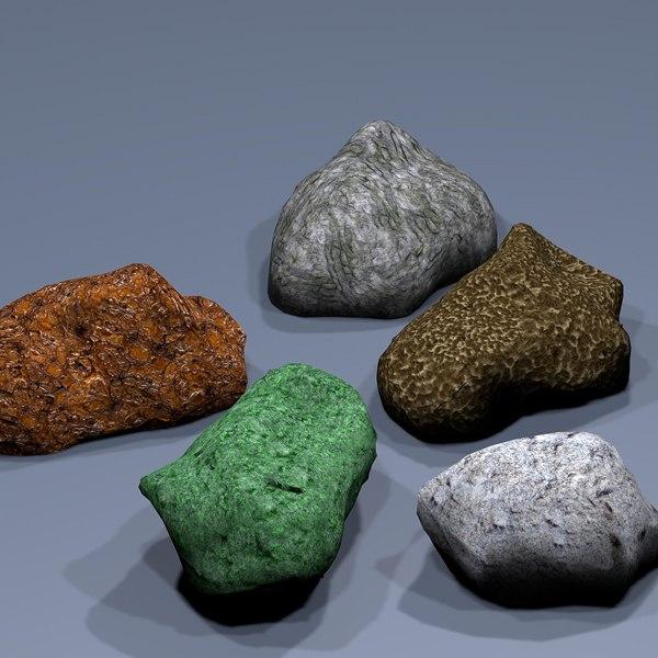 3ds max stones games