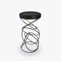 3d model stool seat