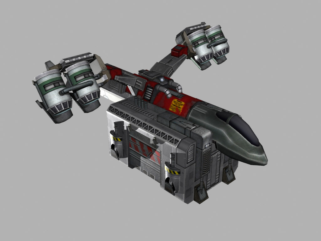 3d transport starship