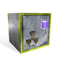 old locker 3d model