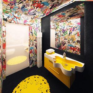 bathroom interior max