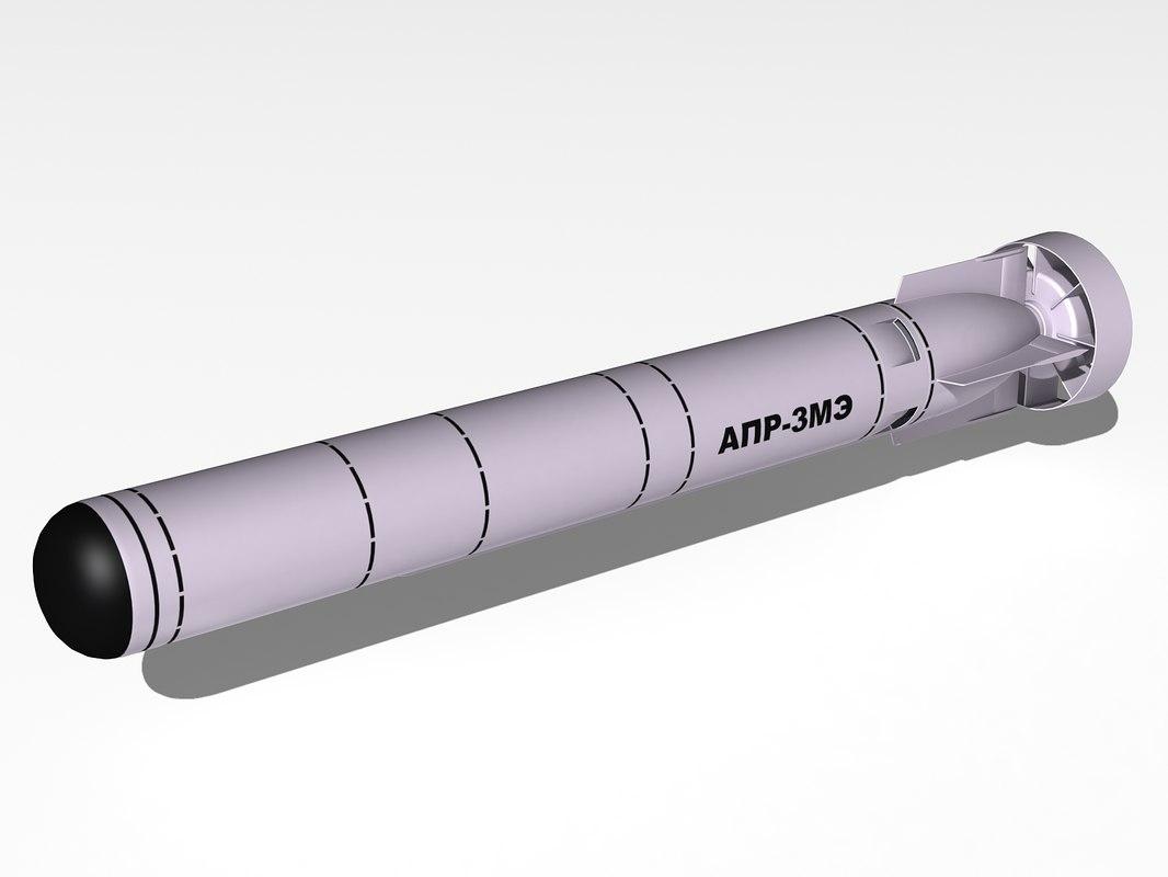 apr-3me missile apr-3e 3d model