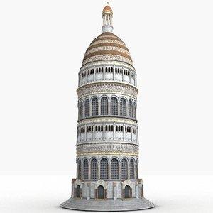 monument fantasy 3d max