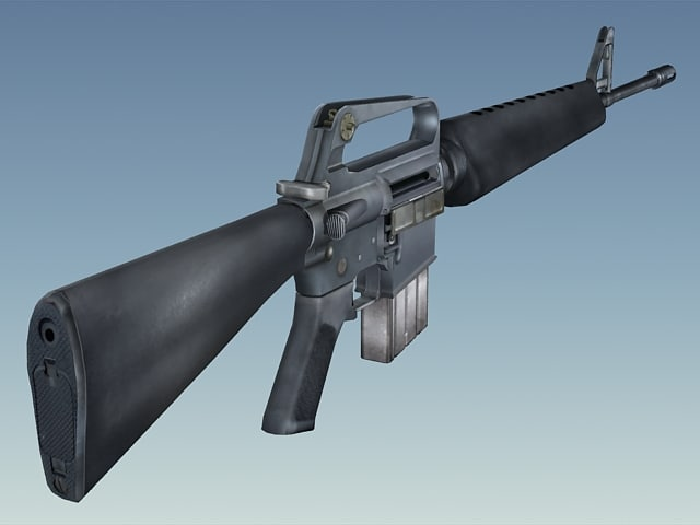 max army m16a1 rifle