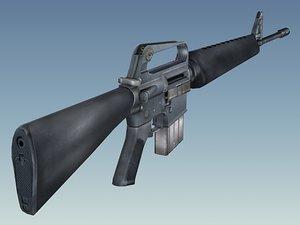 max army m16a1 rifle