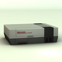 nintendo entertainment 3d c4d