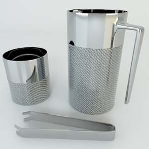 3d armani jug ice holder