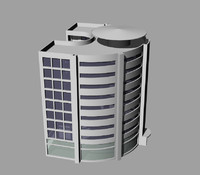 offices 3d dwg