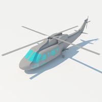 3d model of helicopter 2011