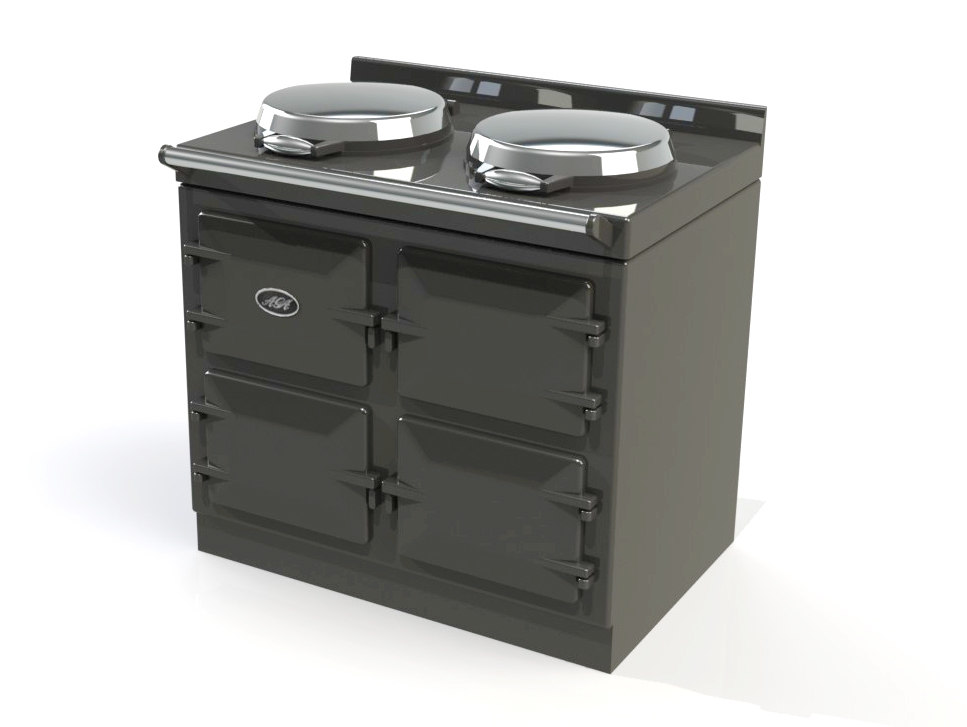 aga range cooker 3d model