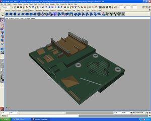 3d model design skatepark