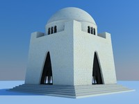 mazar e quaid 3d 3ds