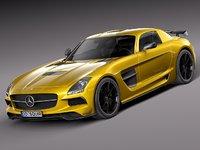 Mercedes SLS AMG Black 2013