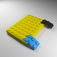 notebook cover 3d max