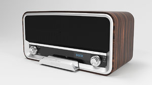 philips ord 7100 radio 3d model