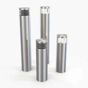 slv vap bollards light 3d model