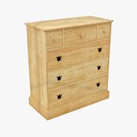 3d max vintage chest