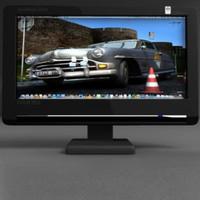 TFT computer monitor