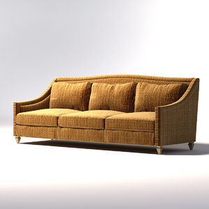 donghia - toulouse sofa 3d max