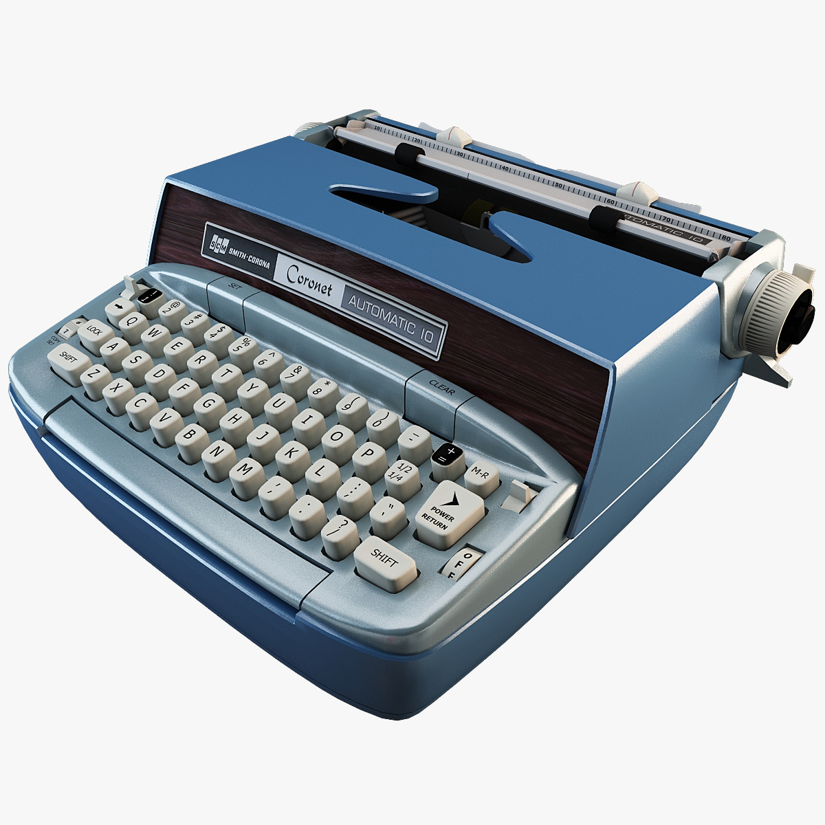 3ds max retro smith corona automatic