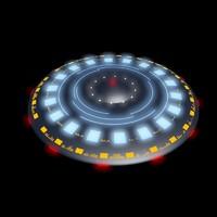 ufo 3d max