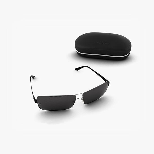 armani sunglasses glasses 3d max