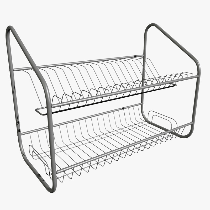 3d wire rack model