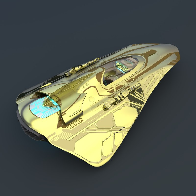 fighter weapons 3d model