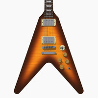 Guitar: Gibson Custom Flying V: Tobacco Sunburst