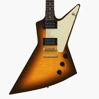 Guitar: Gibson Explorer: Custom Tobacco Sunburst