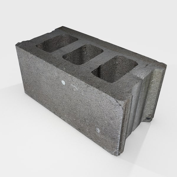 3ds max cmu cinder block