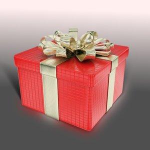 3d giftbox present
