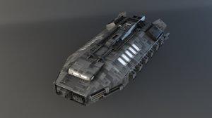 3dsmax earth shuttle babylon 5