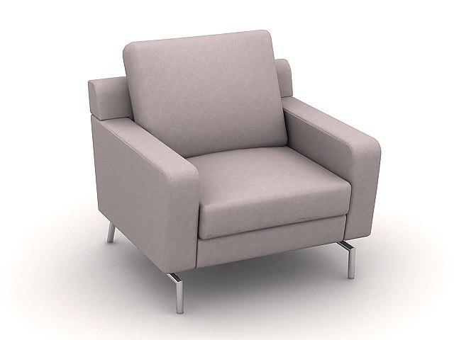 3dsmax sofa