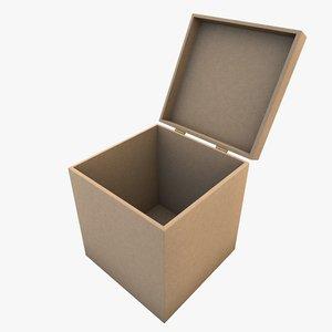 mdf box 3d c4d