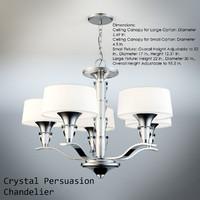 Crystal Persuasion Chandelier
