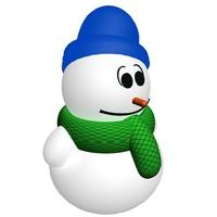 Snowman preloader